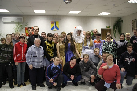 Святочный праздник в Черкизовском психоневрологическом интернате