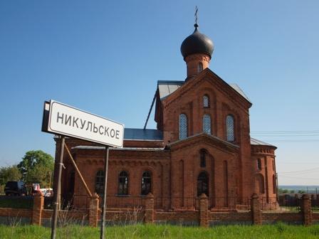 Покровский храм села Никульское