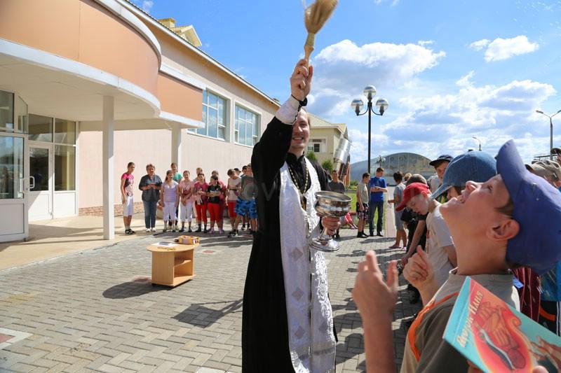 День памяти пророка Божия Илии в Коломенском детском доме-интернате 2 августа 2015 года
