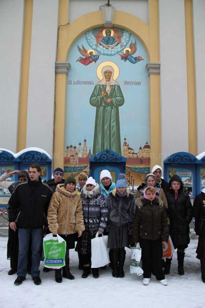 Черкизовский психоневрологический интернат в Покровском монастыре 6 февраля 2013 года