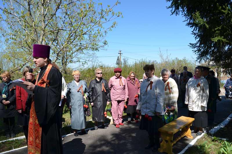 Торжественный митинг ко Дню Победы в селе Никульском