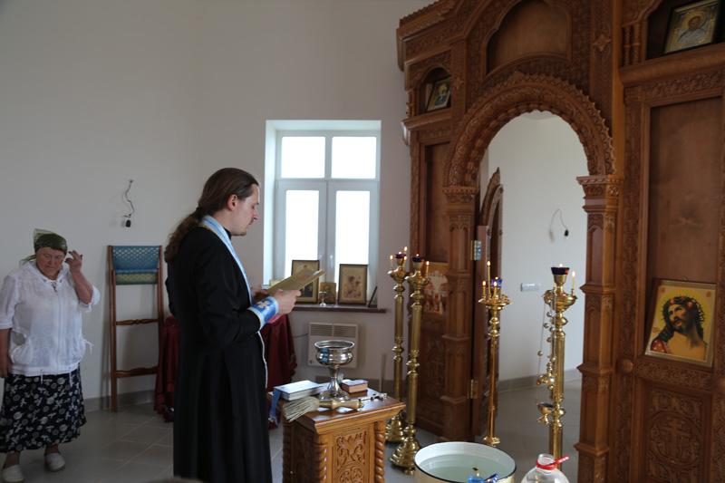 Престольный праздник Смоленского храма-часовни деревни Молитвино 10 августа 2015 года