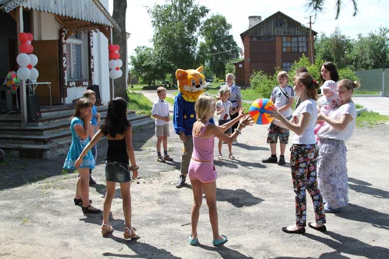 День защиты детей 2013 года в селе Никульском Коломенского района