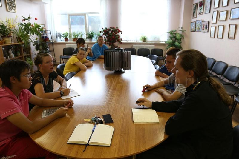 Совет самоуправления в Коломенском детском доме-интернате «Планета детства» 1 июля 2015 года