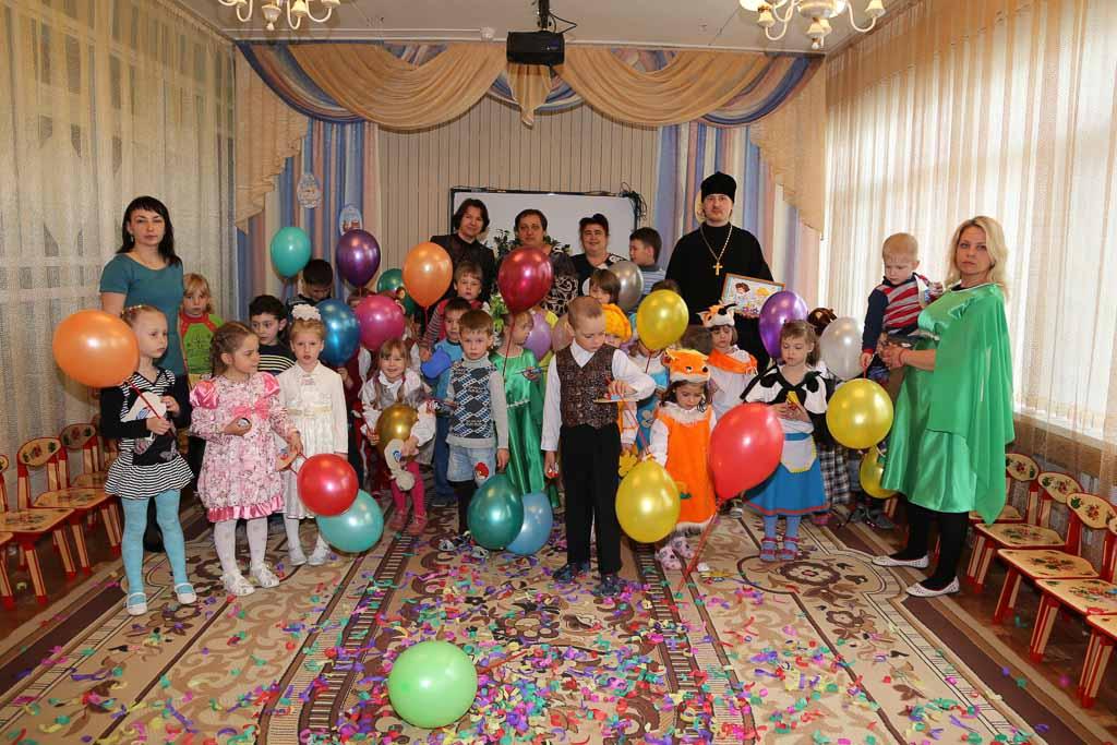 Пасхальный утренник в МДОУ детский сад № 9 «Дружба» (село Черкизово) 5 мая 2016 года