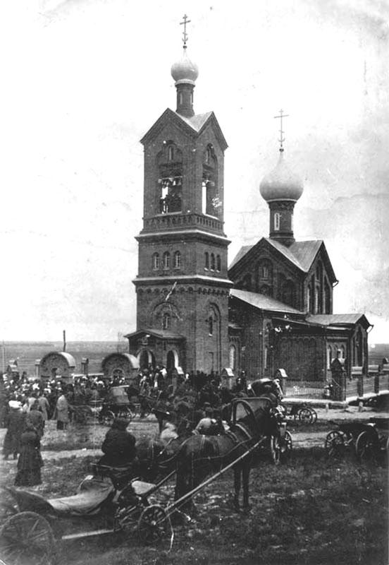 Покровский храм с. Никульское