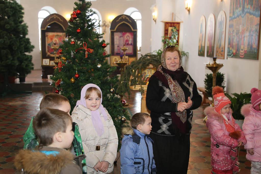 Детский Рождественский праздник 2016 года в Покровском храме