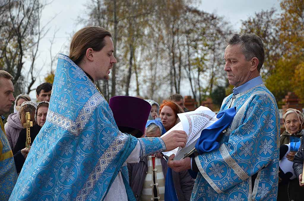 Престольный праздник в Покровском храме села Никульское 14 октября 2016 года