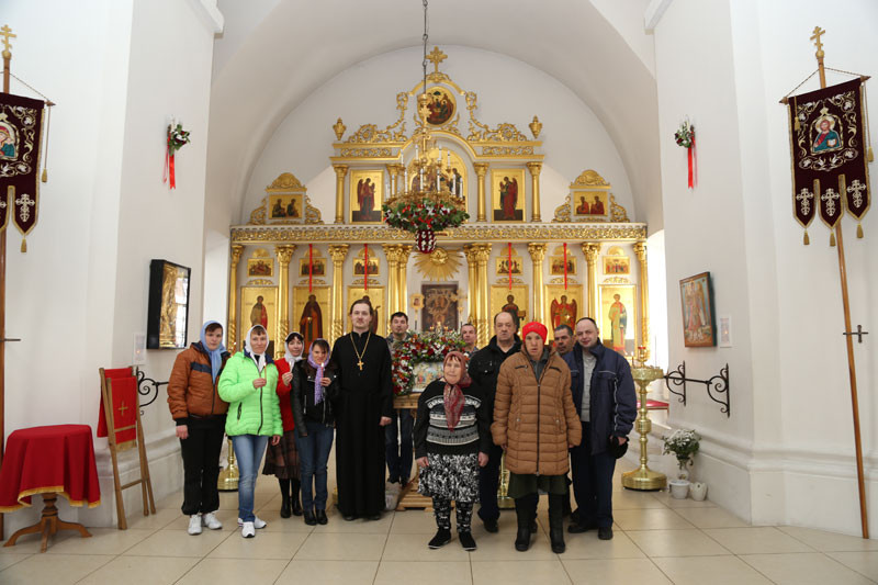 Паломническая поездка воспитанников Черкизовского интерната 17 апреля 2015 года