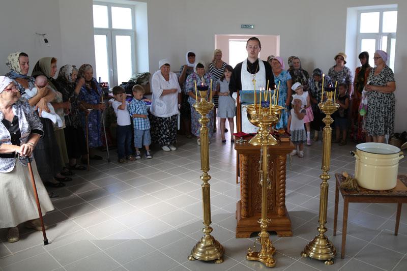Престольный праздник Смоленского храма деревни Молитвино 10 августа 2014 года