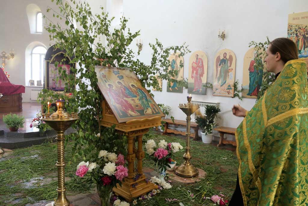 День Святой Троицы 2016 года в Покровском храме