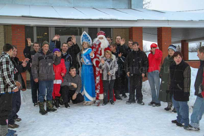 Рождественский праздник 2013 года в Черкизовском психоневрологическом интернате