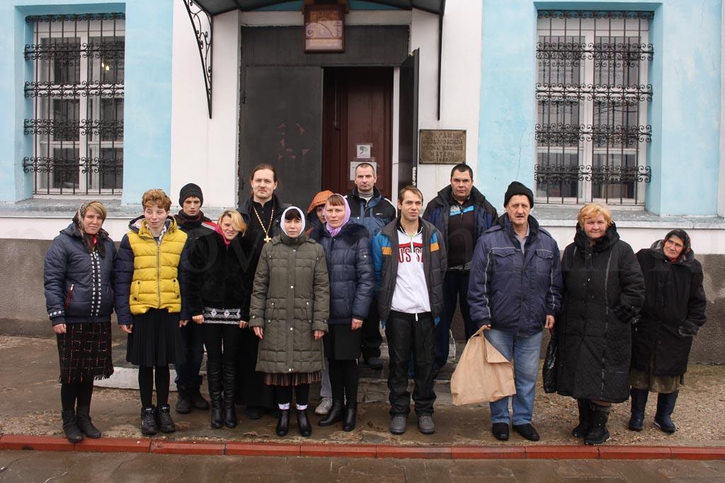 Экскурсионно-паломническая поездка воспитанников Черкизовского психоневрологического интерната 20 ноября 2015 года