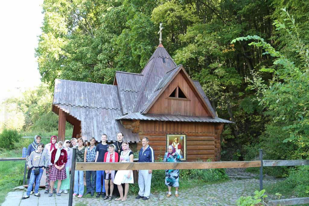 Паломническая поездка воспитанников Черкизовского психоневрологического интерната 30 августа 2016 года